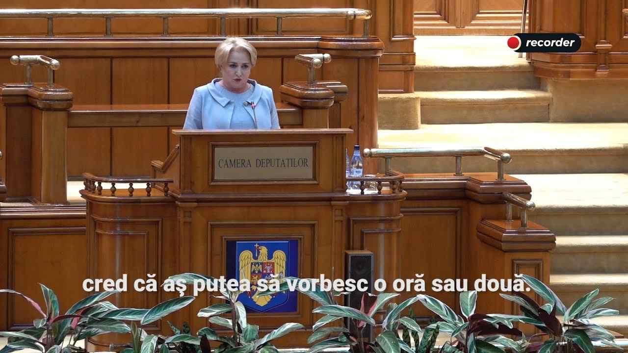 declarații acide parlament motiune de cenzură dotarea poliției dăncilă plimbată Greşelile de exprimare noile legi ale justiției doamnele PSD