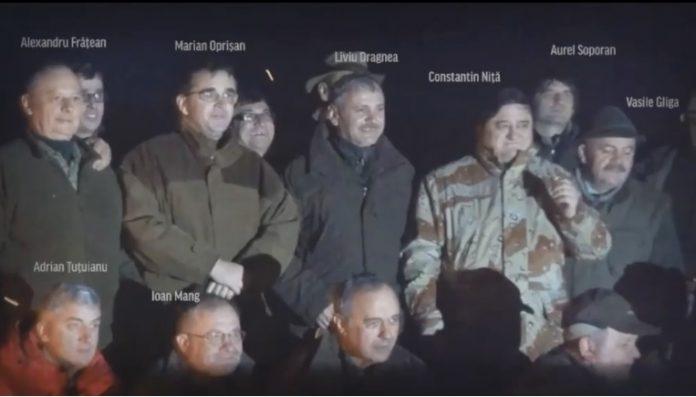 #Teleormanleaks: Liviu Dragnea filmat la vânătoare cu conducerea Tel Drum