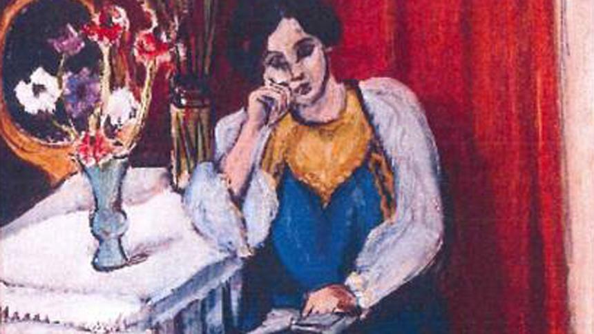 tablou semnat de Picasso jaf tablouri olanda
