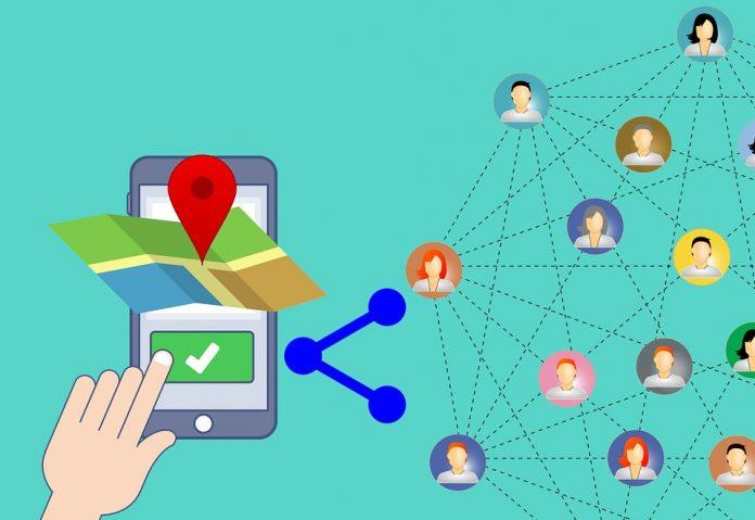 sts reinventează roata descoperă share location