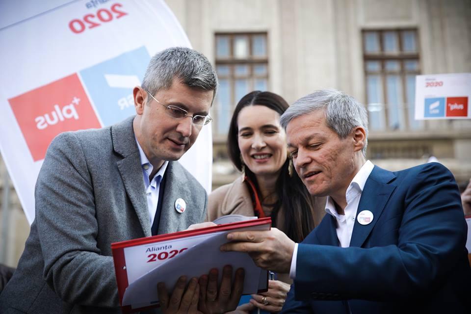 Alegerea primarilor două tururi referendum pe Justiţie Alianța USR PLUS 2020 Fără impozit pe salariul minim USR PLUS dacian ciolos dan barna