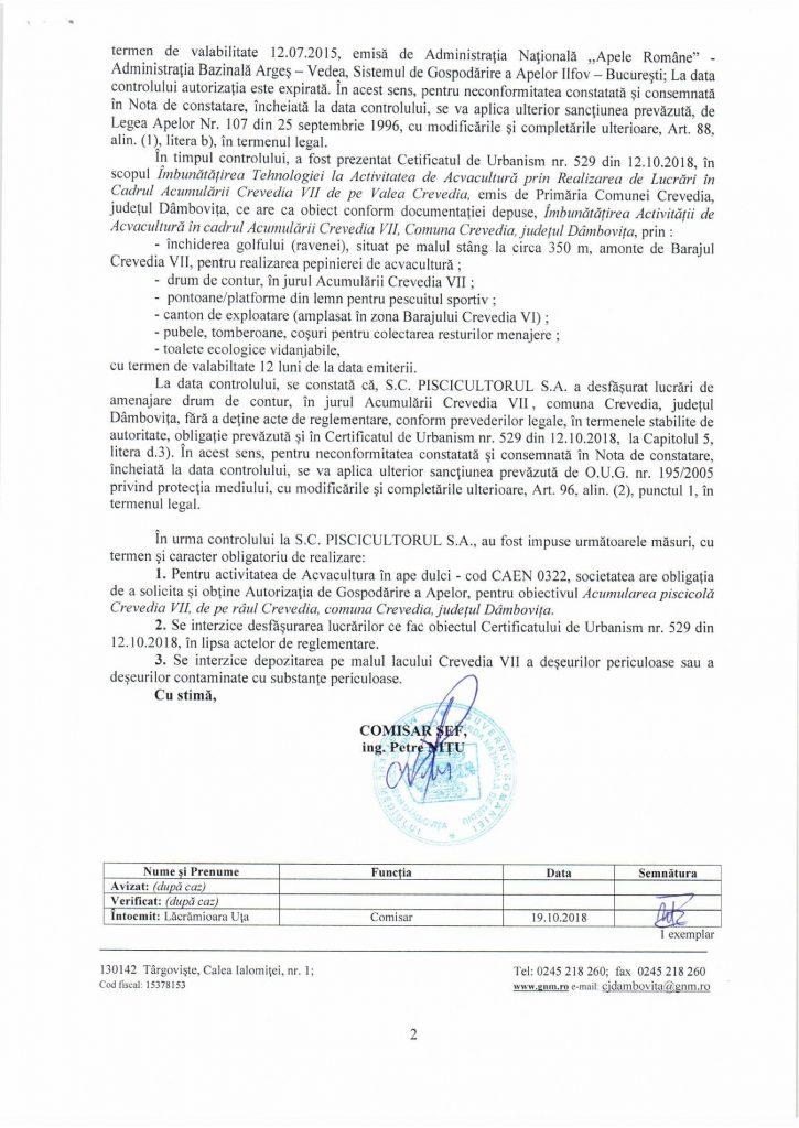 Fiica ministrului Daea, Larisa Popescu, amenință inspectorii de la Apele Române după ce a fost amendată că a depozitat munți de moloz pe malul lacului Crevedia