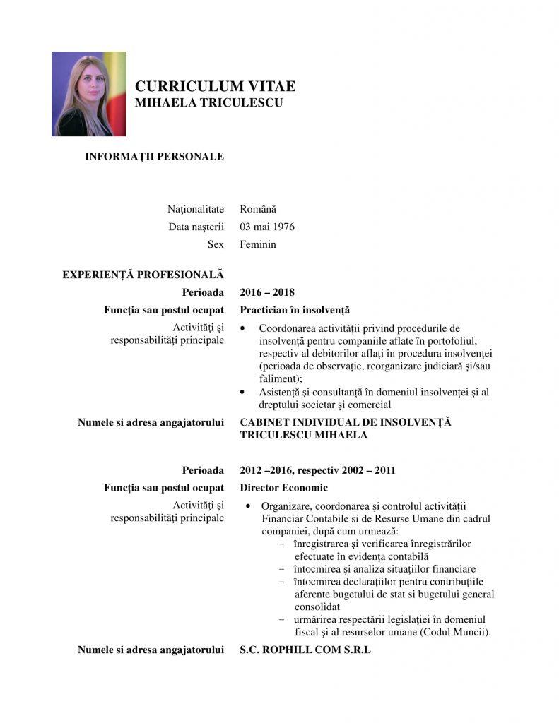 șefa anaf Directorul Agenției Naționale de Administrare Fiscală (ANAF), Mihaela Triculescu