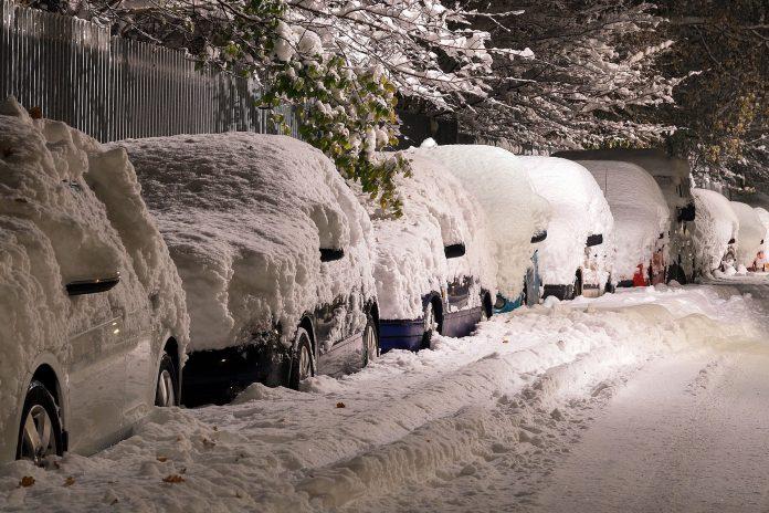 România sub zăpadă