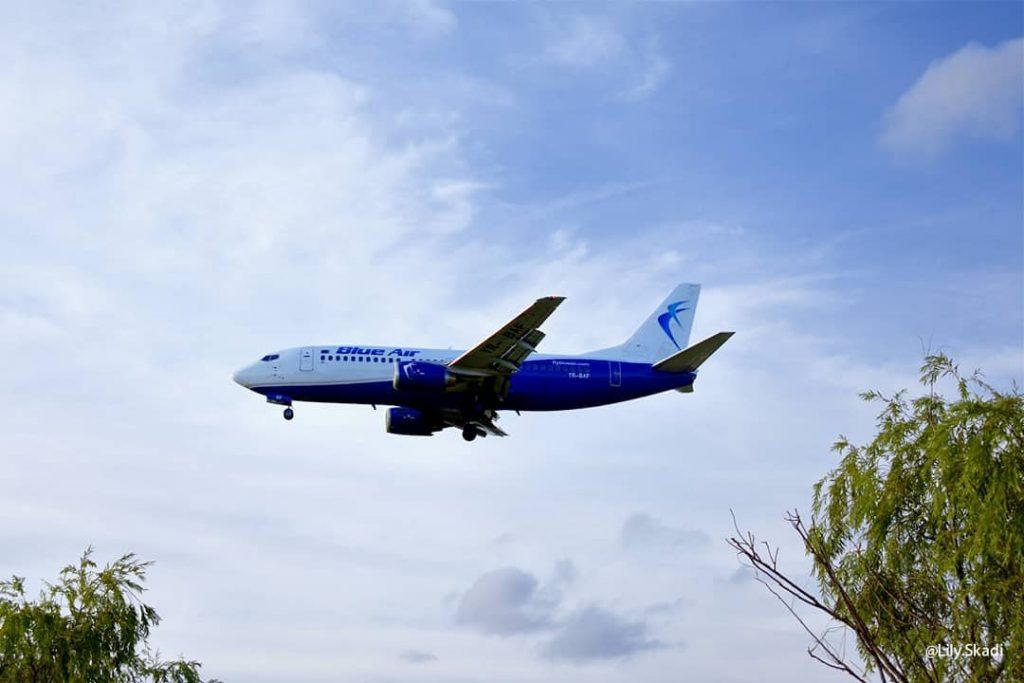 blue air credit salvare